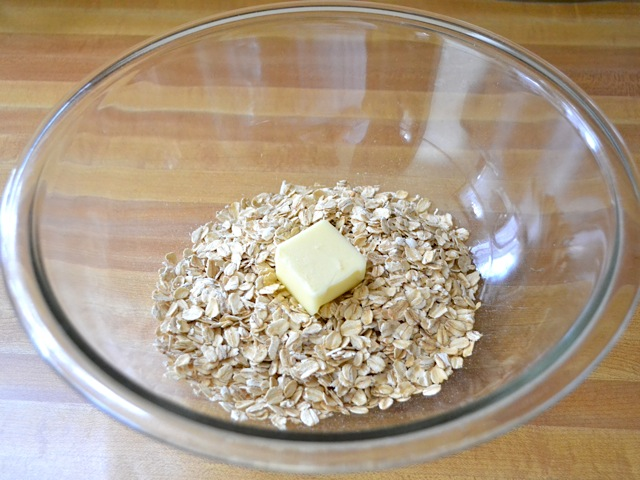 oats and butter